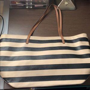 Nine West Bags - Nine West Striped Tote Bag